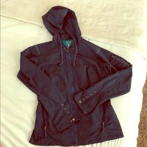 Lightweight Mountain Hardware navy jacket size 10